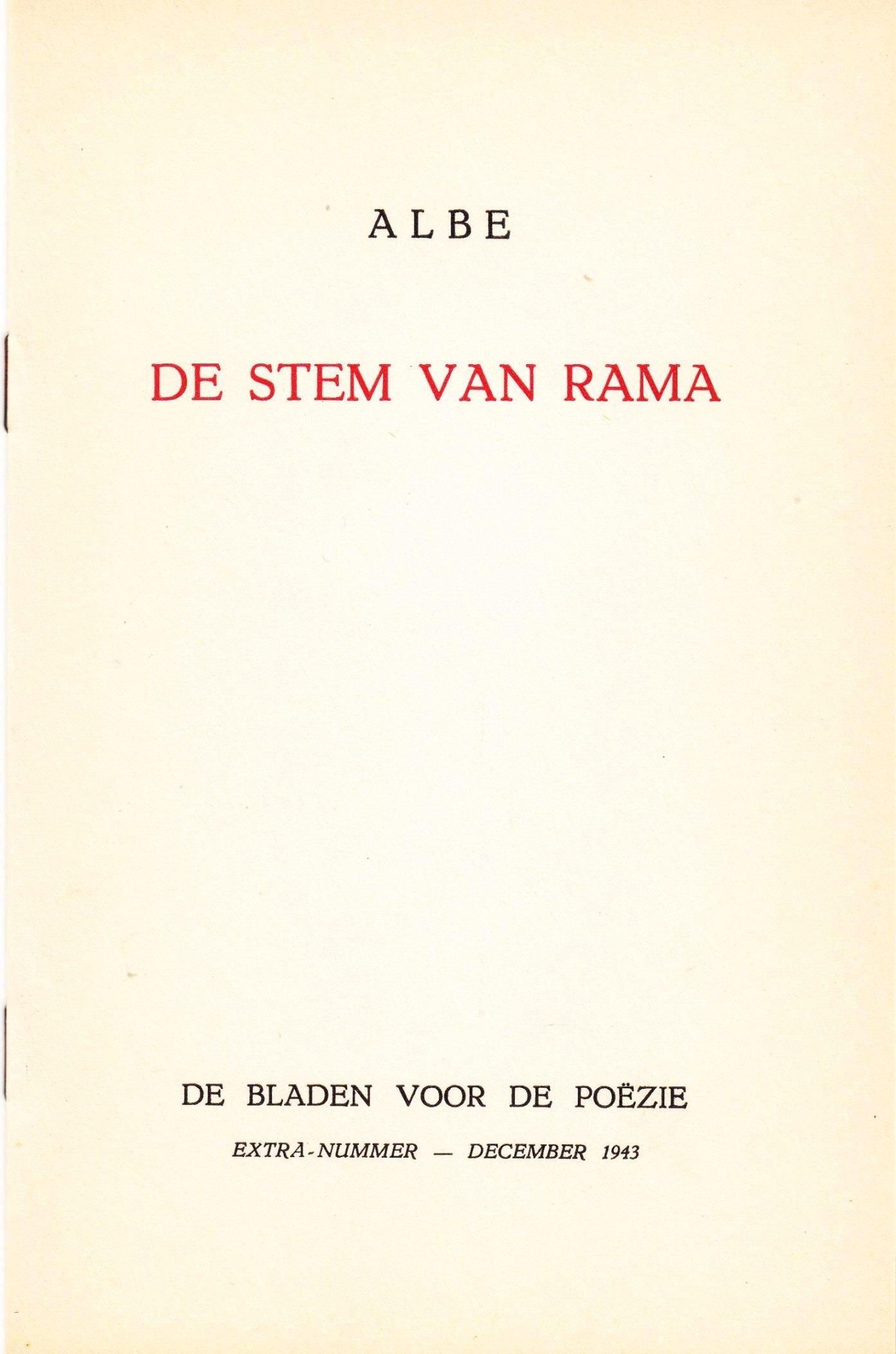 Albe Schrijversgewijs