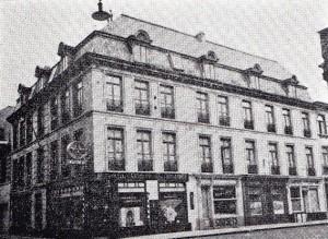 Brulez Huis te Borgen 1951