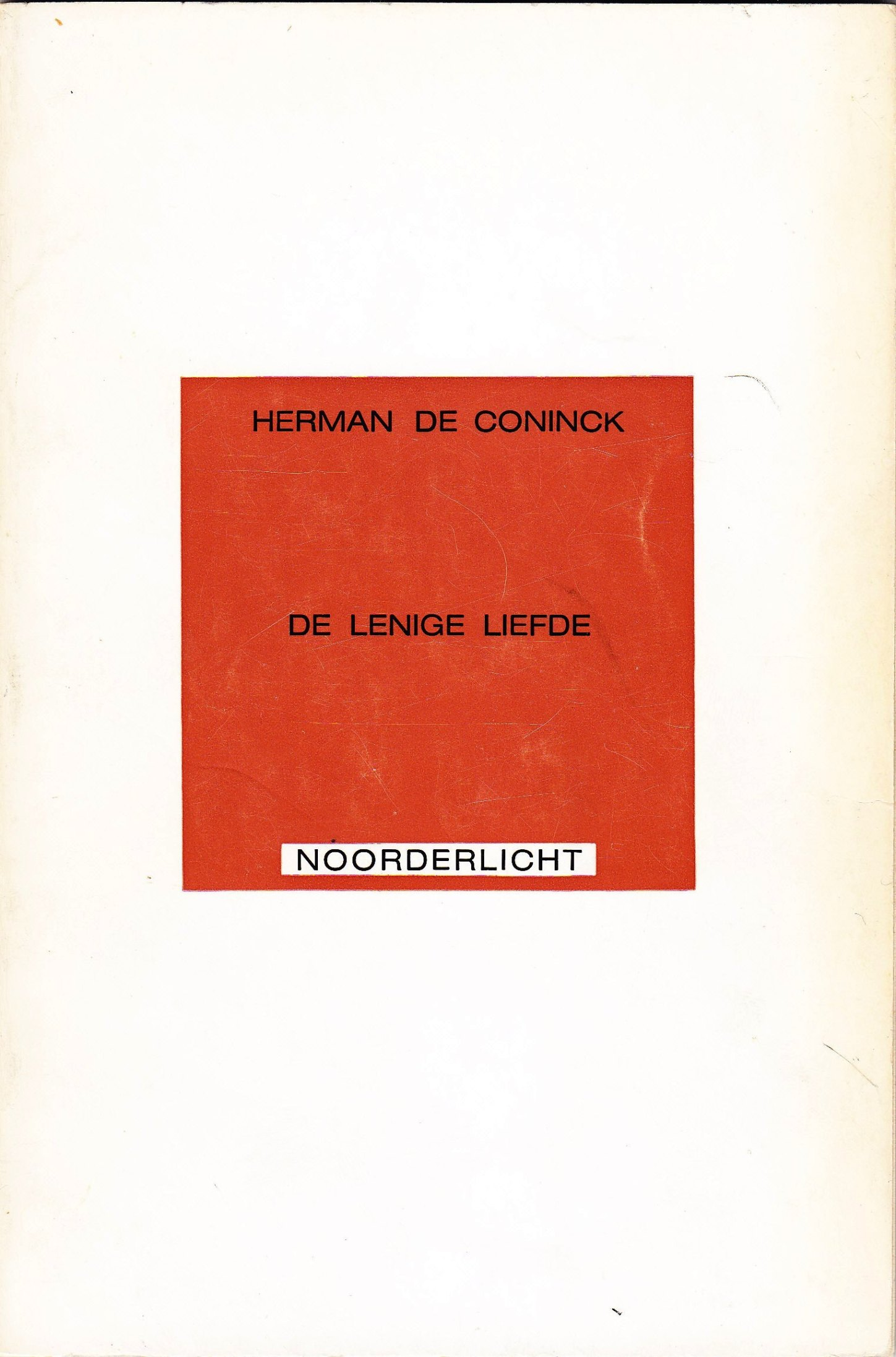 Extreem De Coninck, Herman – Schrijversgewijs #IJ98