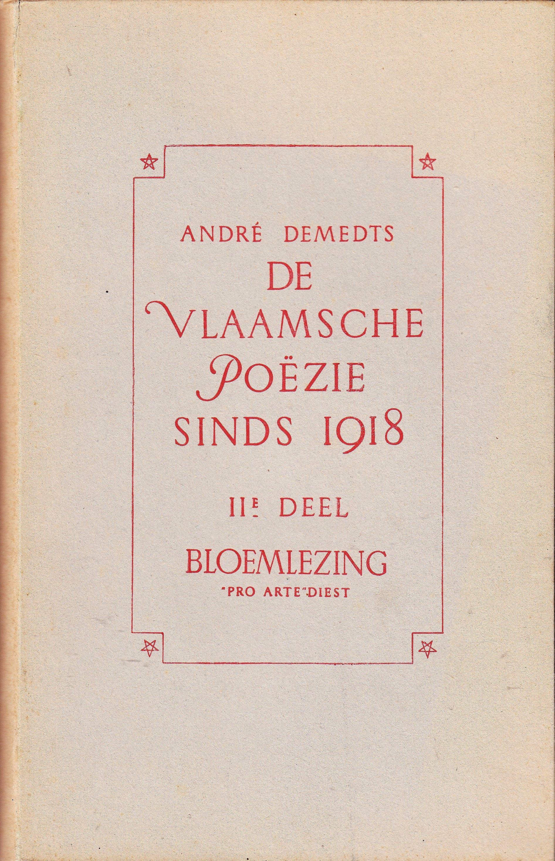 Demedts André Schrijversgewijs