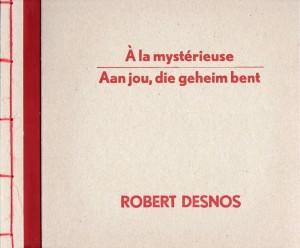 Mysjkin 153 Robert Desnos Cover