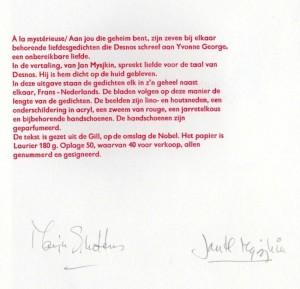 Mysjkin 153a Robert Desnos Colofon