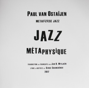 Mysjkin 179_Paul van Ostaijen Jazz métaphysique Cover