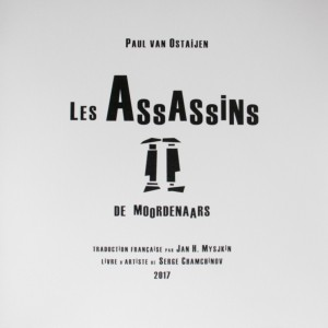 Mysjkin 180_Paul van Ostaijen Les Assassins Cover
