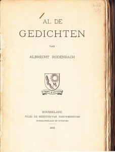 Rodenbach Albrecht 9