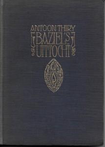 Thiry antoon 19 Baziel's Uittocht
