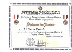 van de casteele 36 diploma
