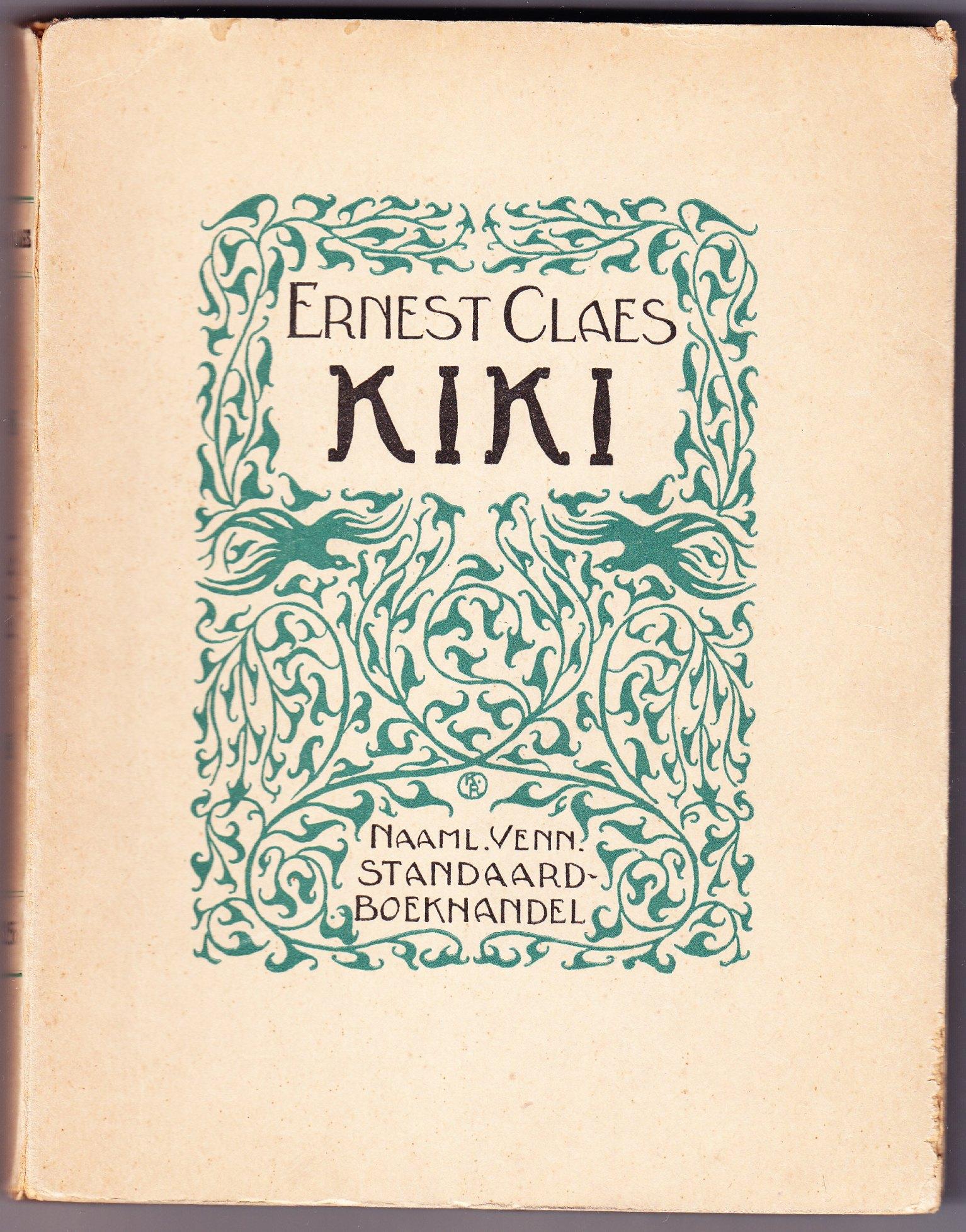 Claes Ernest Schrijversgewijs