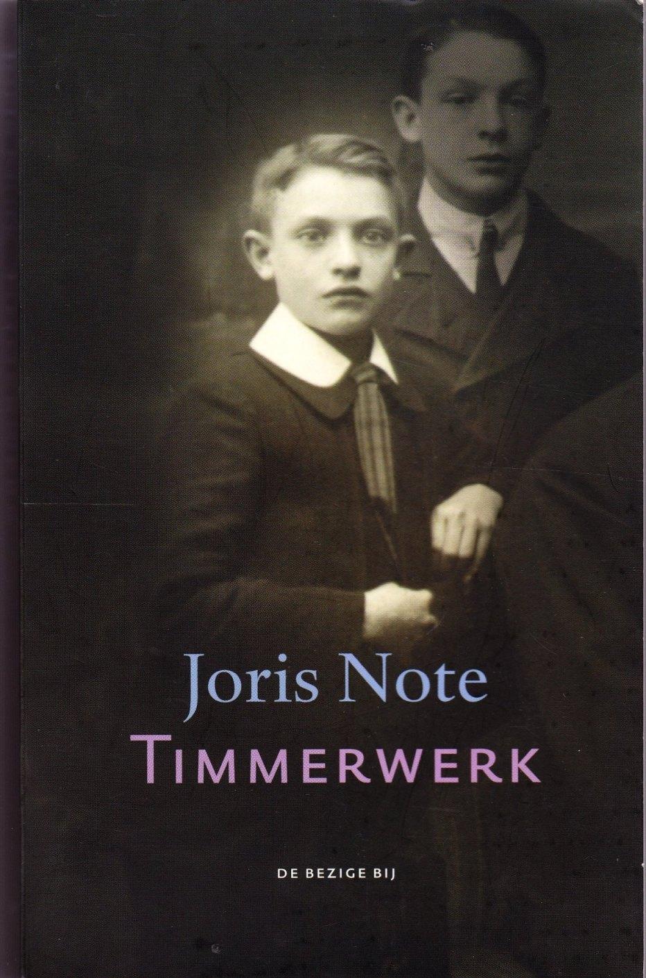 """Résultat de recherche d'images pour """"Timmerwerk van Joris Note"""""""