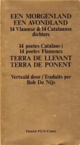 De Nijs Bob 1 Catalaanse poësie 1