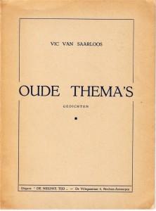 Van Saarloos Vic 5
